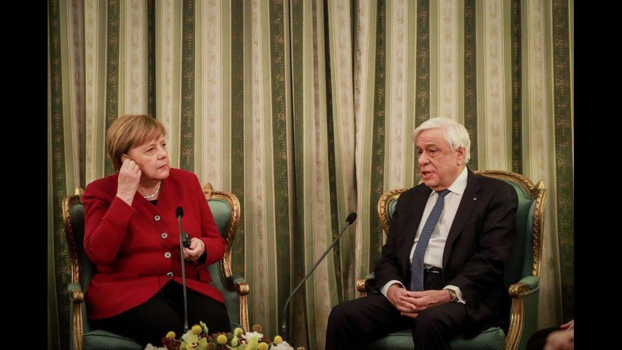 Το πρόβλημα κατά τη συνάντηση Παυλόπουλου - Μέρκελ