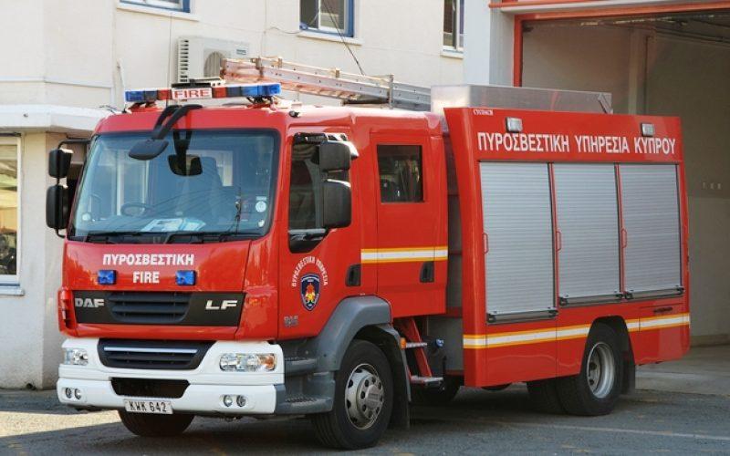 Φωτιά στο Κοιλάνι Λεμεσού - Στο σημείο η Πυροσβεστική