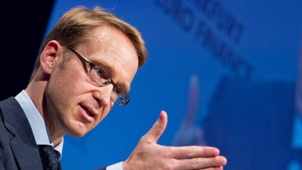 Βάιντμαν: Η ζώνη του ευρώ δεν είναι προστατευμένη από μια κρίση