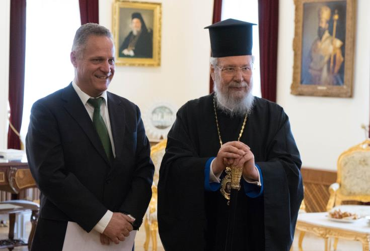 Υπ. Παιδείας: Ευχαριστεί τον Αρχιεπίσκοπο για ανέγερση φοιτητικών