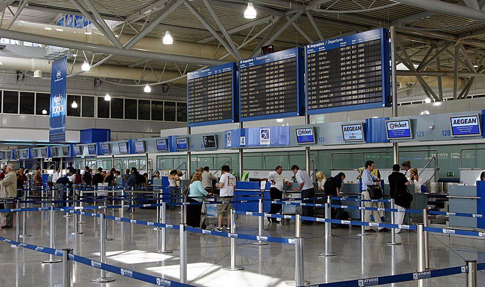 Τηλεφώνημα για αεροπειρατεία στο αεροδρόμιο Ελ. Βενιζέλος