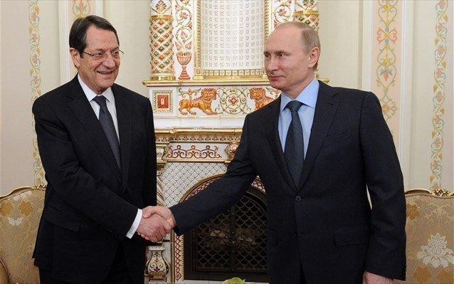 Συνάντηση ΠτΔ – Πούτιν: Αμοιβαίος σεβασμός Κύπρου-Ρωσίας