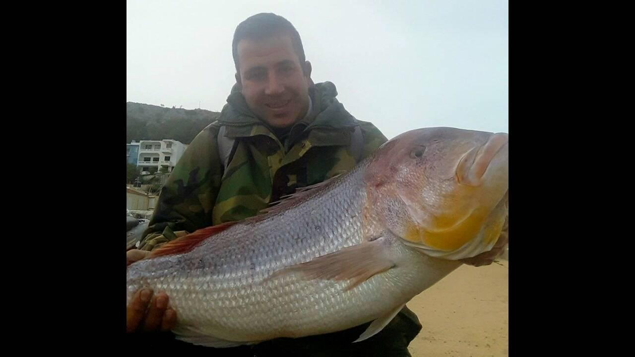 Ελλάδα: Ψαράς έπιασε συναγρίδα 15,5 κιλών! (ΦΩΤΟΣ)