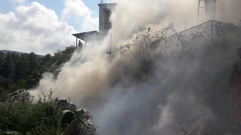 Φωτογραφίες και βίντεο από την φωτιά στον Ακάμα