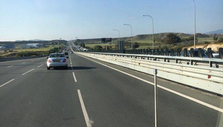 Σε κυκλοφορία ο αυτοκινητόδρομος Λευκωσίας