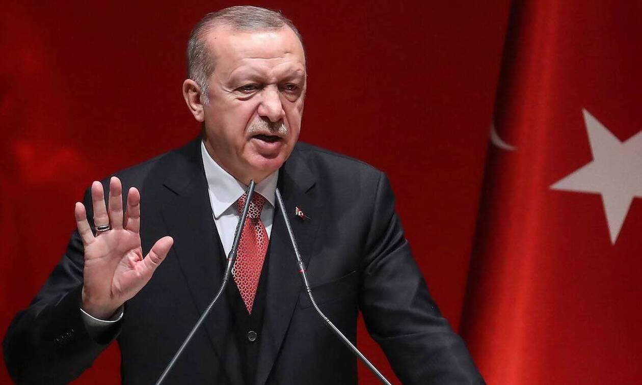 Ερντογάν: Δεν τίθεται μείωση τουρκικών στρατευμάτων σε κατεχόμενα