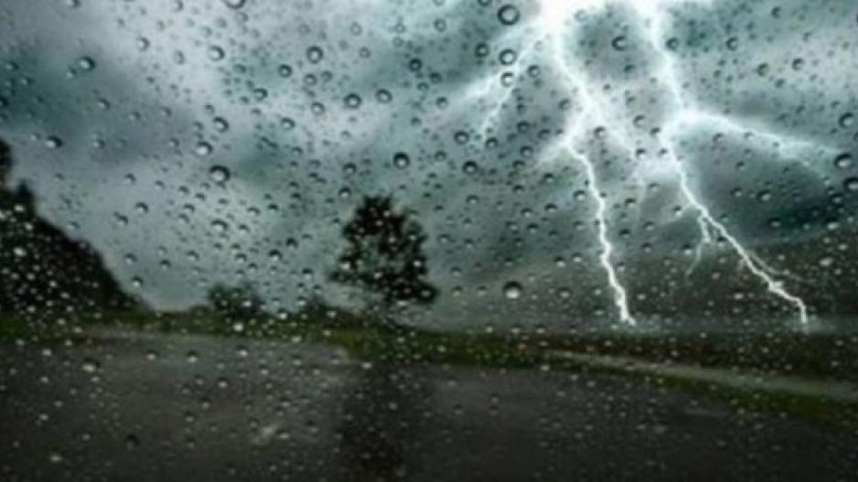 Πτώση θερμοκρασίας, σκόνη, βροχές και καταιγίδες