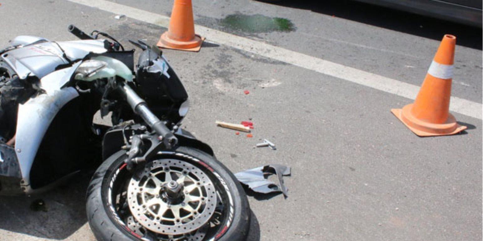 Τροχαίο στη Λεμεσό - Η κατάσταση του μοτοσικλετιστή