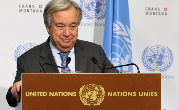 Εκθεση ΟΥΝΦΙΚΥΠ: Τι αναφέρει ο ΓΓ του ΟΗΕ για «μηχανισμούς»