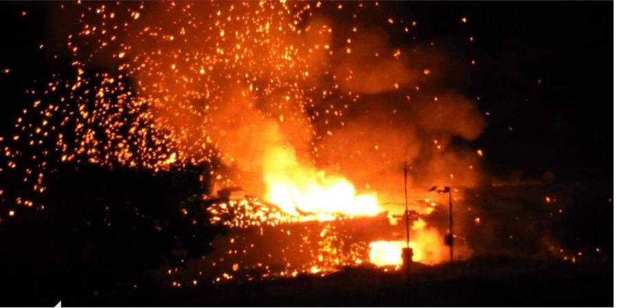 Κατεχόμενα: Έκρηξη σε στρατιωτική περιοχή (pics Vid)