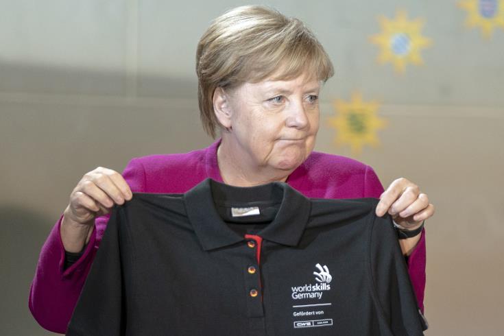 Μέρκελ: H Oύρσουλα αλλάζει τις προοπτικές ΕΕ – ΗΠΑ στο εμπόριο