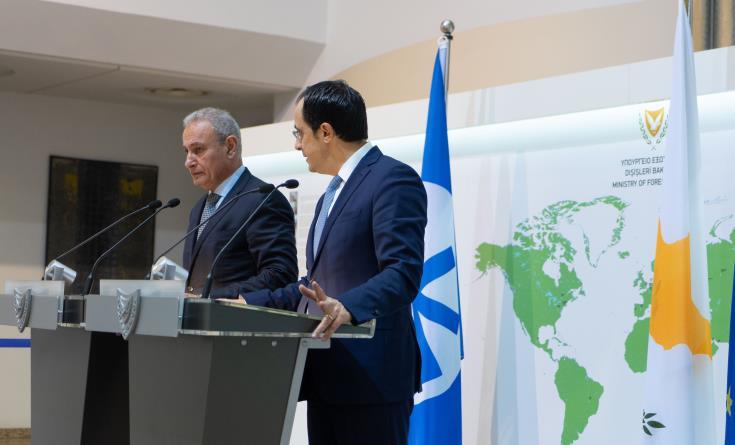 Κάμελ: Σημαντικός ο Ευρωμεσογειακός ρόλος της Κύπρου