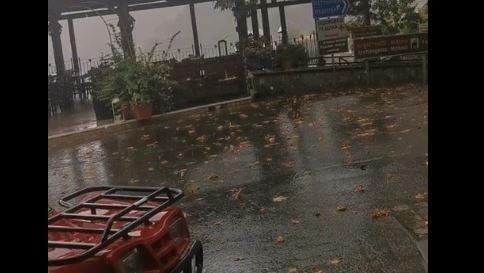 Καλοκαιρινές βροχές στην Κύπρο (Βίντεο)
