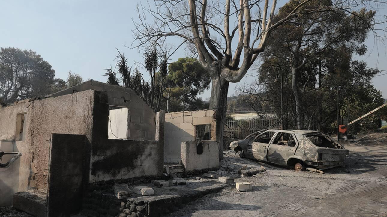 Φωτιά/Αχαΐα: Μάχη για να ανακοπεί το πύρινο μέτωπο