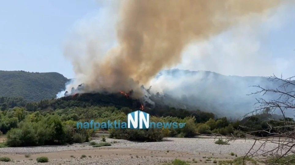 Μεγάλη φωτιά στην Ελλάδα - Εκκενώνονται οικισμοί