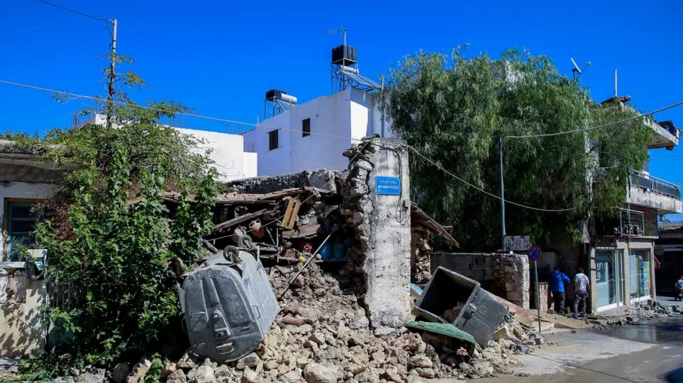 Σεισμός στην Κρήτη: Ισχυρός μετασεισμός 4,8 Ρίχτερ