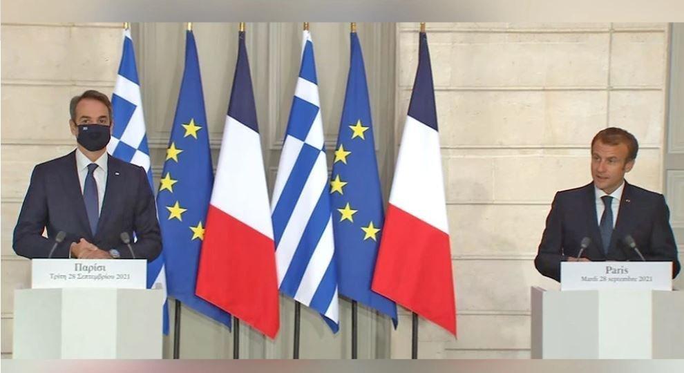 Μητσοτάκης από Παρίσι: Η Ελλάδα αποκτά 3+1 φρεγάτες Belh@rra
