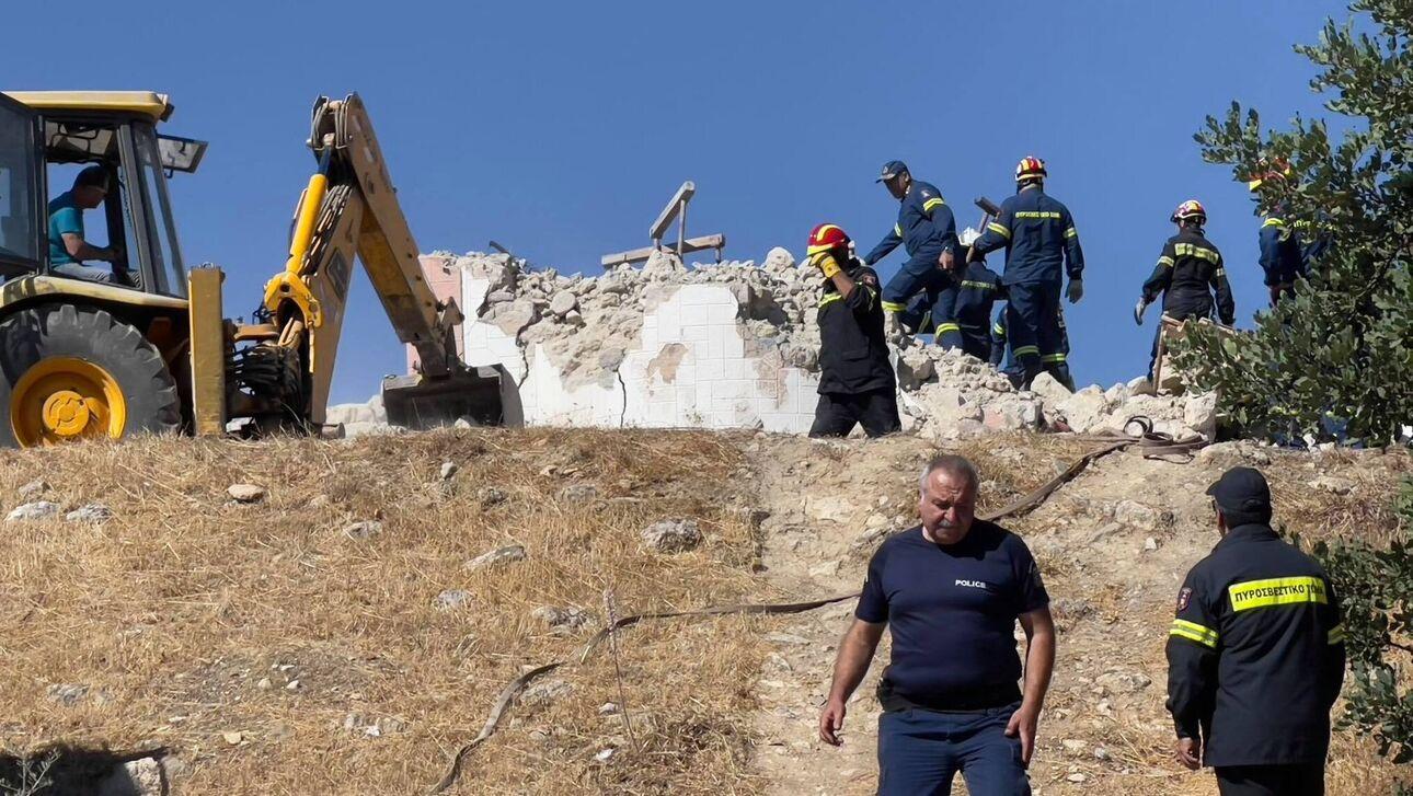 Σεισμός Κρήτη: 1 νεκρός και 9 οι τραυματίες - 2 με κατάγματα