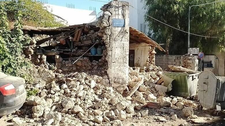 Κρήτη: Καταστράφηκε ένα ολόκληρο χωριό από τον σεισμό