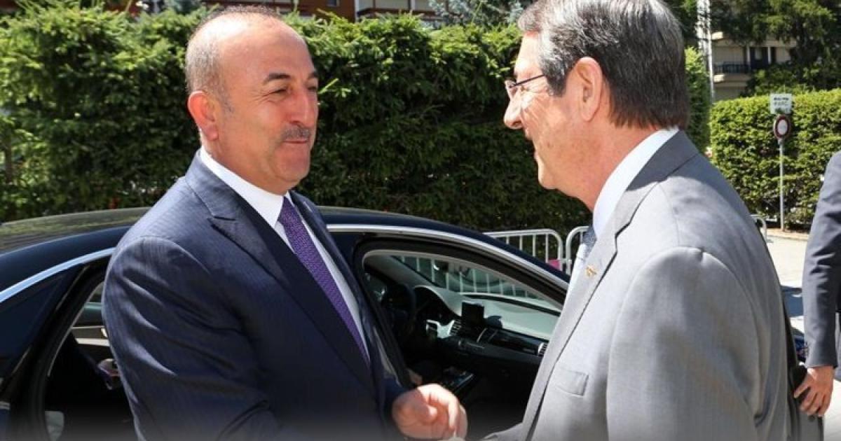 Τουρκία.  Έδωσε το αντίγραφο της συνομιλίας του PTD-avusoglu στον ΟΗΕ