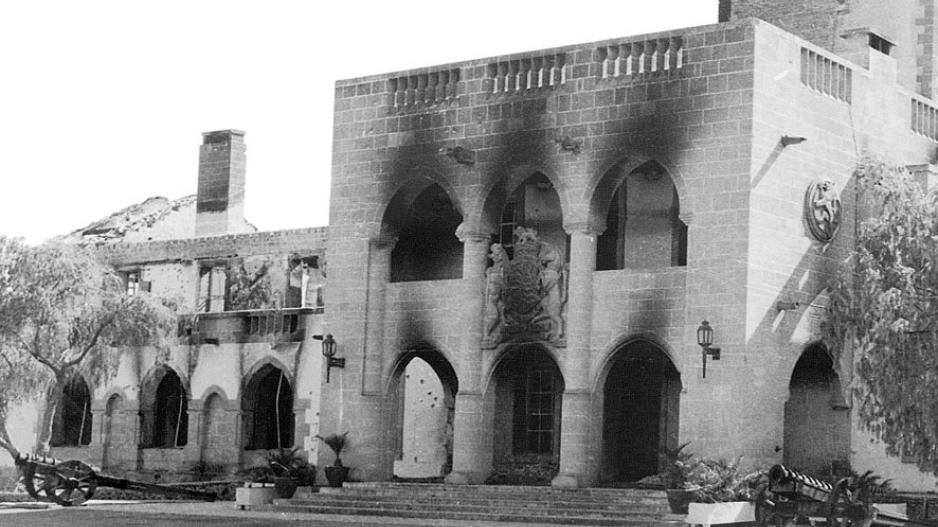 Αποτέλεσμα εικόνας για βομβαρδισμος προεδρικο κυπρος 1974